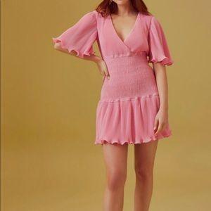 Keepsake Clarity Mini Dress in Pink Pop